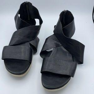 Eileen Fisher Sport Sandal size 11 zipper back